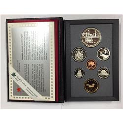Canada 1991 Frontenac Double Dollar Set