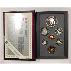 Canada 1993 Hockey Double Dollar Set