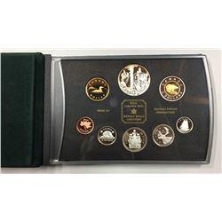 Canada 2002 Queen Elizabeth II Double Dollar Proof Coin Set