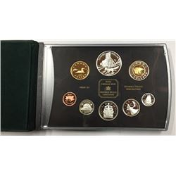 Canada 2003 Cobalt Double Dollar Proof Coin Set