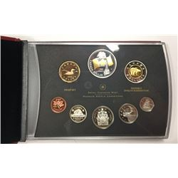 Canada 2005 Flag Double Dollar Proof Set