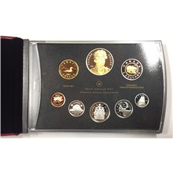 Canada 2007 Thayendanegea Double Dollar Proof Set