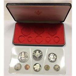 Cayman Islands 1974 Proof 8 Coin Set