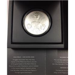 Niue 2016 $2 Han Solo Silver Coin