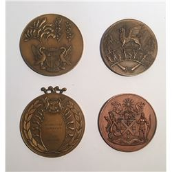 British Empire & Commonwealth Games Group of Medals 1958-1966