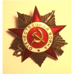 Russia Order of the Patriotic War II degree 1942