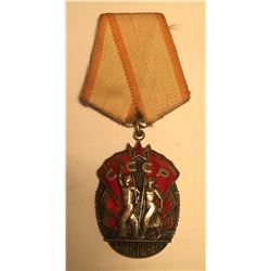 Russia Order of the Badge of Honor Medal 1935