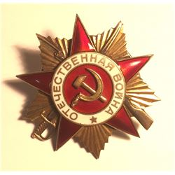Russia Order of the Patriotic War I degree 1942