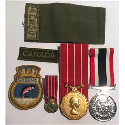 Canada Special Service & Canadian Decoration Medals and More.