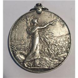 Queens South Africa Silver Medal Pte. J. FENNINGS NORFOLK REG.