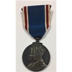 1937 Coronation Medal George VI & Queen Elizabeth