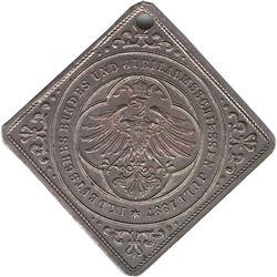 Germany 1887 Frankfurt Shooting Medal