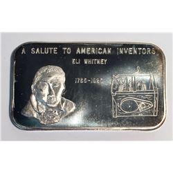 The Justice Mint 1 oz Silver Art Bar
