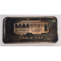 Patrick Mint San Francisco Cable Car 1 oz Silver Art Bar