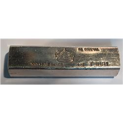 10 oz Silver Bar with Crown Logo