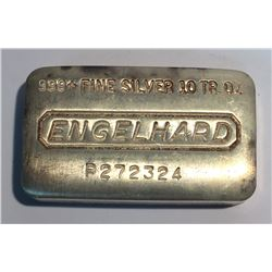 10 oz Silver Bar Engelhard P272324