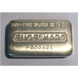 10 oz Silver Bar Engelhard P300421