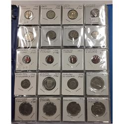 Over 175 Coins in Binder - Countries beginning with H I - Estate Lot