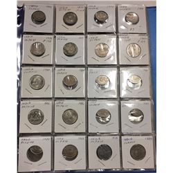 Over 120 Coins in Binder - Countries beginning with I J - Estate Lot