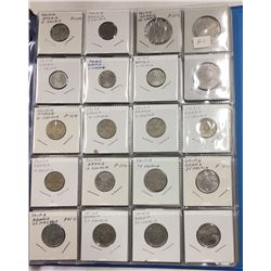 Over 150 Coins in Binder - Countries beginning with S - Estate Lot
