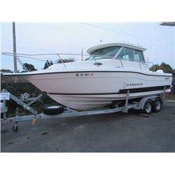 2001 Seaswirl Striper 2600 w/ Twin Evenrude 150 Obs
