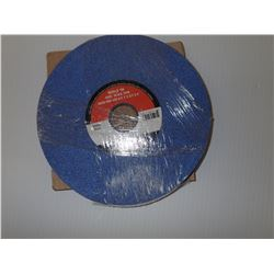 CGW 34214 8 X 1/2 X 1-1/4 T1 AS3-46-K-VCER GRINDING WHEEL *LOT OF 2*