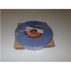CGW 34209 7 X 1/2 X 1-1/4 T1 AS3-46-J-VCER GRINDING WHEEL *LOT OF 2*