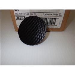3M 923 SURFACE CONDITIONING DISC HOLDER BOX OF 12 *LOT OF 2*