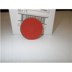 """3M 14661 Roloc Discs 777F, 2"""" Diameter, 80 Grit, Roll-On Mount APPROX. 121 PIECES"""