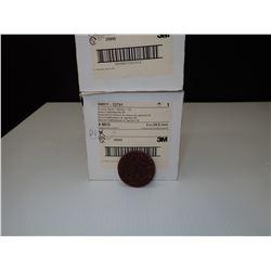 3M 33791 Scotch-Brite Roloc Non-Woven Sanding Disc - 2 in Disc Diameter *Approx 74*