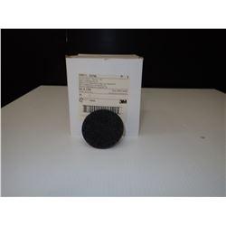 3M 33796 Scotch-Brite Roloc Non-Woven Sanding Disc - 3 in Disc Diameter *Approx. 25*
