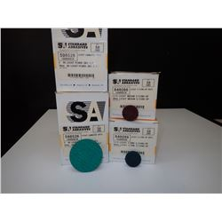 Misc. Standard Abrasives Lockit Discs Approx.200 Pieces *See Pics for Part Numbers*