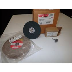Misc Superior Abrasives Items Approx. 32 Pieces *See Pics for Part Numbers*