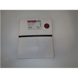 Superior Abrasives 12145 9X11 Resin Cloth Sheet Quantity 25