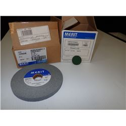 Misc. Merit Abrasives Items Approx. 104 *See Pics for Part Numbers*