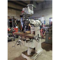 Bridgeport 2 HP Head / Supermax Vertical Mill