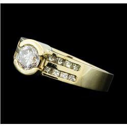 1.02 ctw Diamond Ring - 14KT Yellow Gold