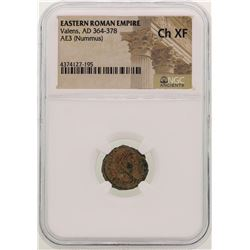 Valens 364-378 AD Ancient Eastern Roman Empire Coin NGC CH XF