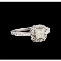 1.12 ctw Diamond Ring - 14KT White Gold