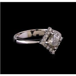 1.01 ctw Diamond Ring - 14KT White Gold