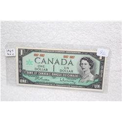 Canada Dollar Bill (1)