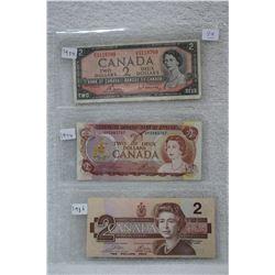 Canada Two Dollar  Bill (3)