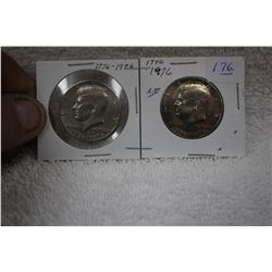 U.S.A. Fifty Cent Coin (2)