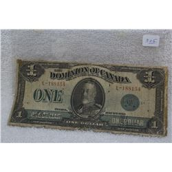 Dominion of Canada One Dollar Bill (1)
