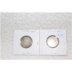 U.S.A. Five Cent Coins (2)