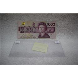 Canada One Thousand Dollar Bill