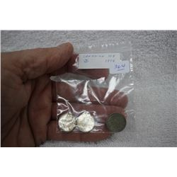 Canada Ten Cent Coins (3)