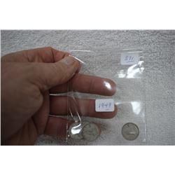 Canada Ten Cent Coins (5)