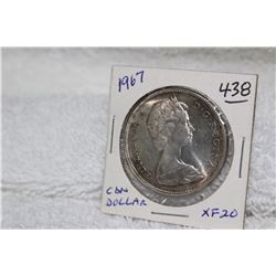 Canadian Centennial Dollar