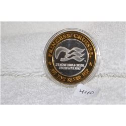 Princess Cruises H.S.P. Coin